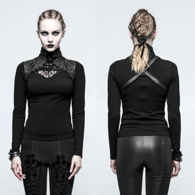 Detailbild zu PUNK RAVE Saddle Top Black