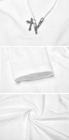 Detailbild zu PUNK RAVE Longsleeve Strap Top Weiß