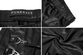 Detail image to PUNK RAVE Carabiner Leggings