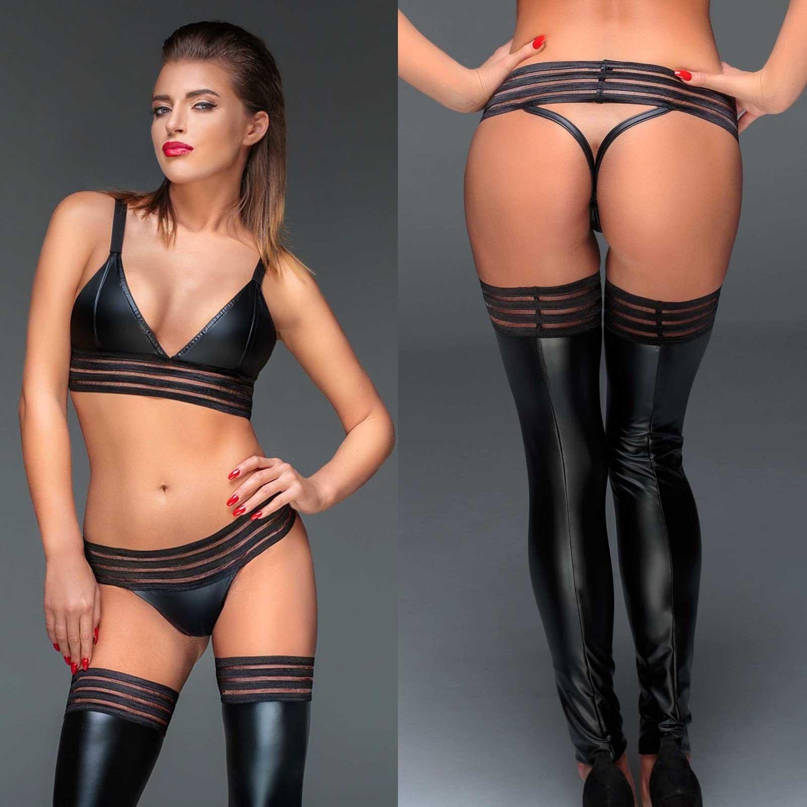 NOIR HANDMADE Powerstripe String Panty
