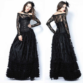 DARK IN LOVE Roseball Skirt