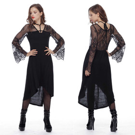 DARK IN LOVE Devotional Gothic Kleid
