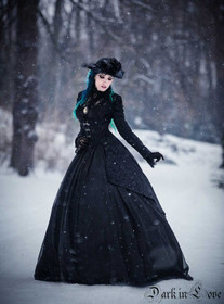 Detail image to DARK IN LOVE Gothic Manteau