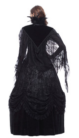 Detail image to DARK IN LOVE Feather Neck Cape