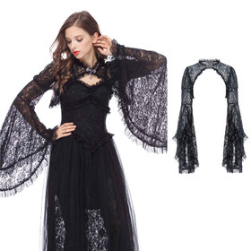 DARK IN LOVE Lace Bolero Jacket