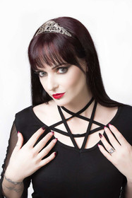 Detail image to DARK IN LOVE Pentagramme Top