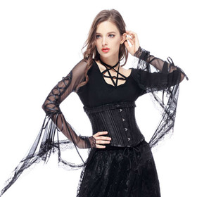 DARK IN LOVE Pentagramm Top