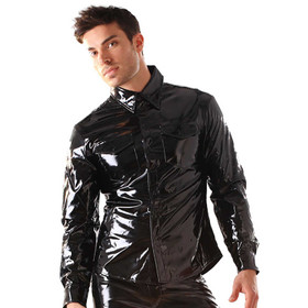 HONOUR PVC Longsleeve Shirt Black