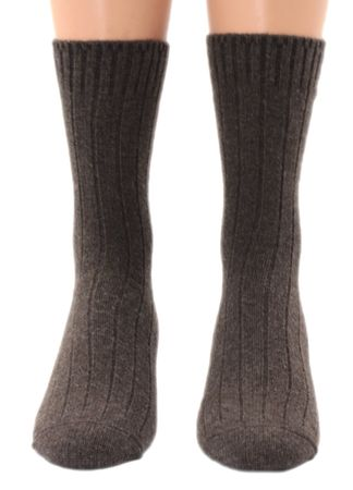 Herren  Kaschmir Cashmere Socke – Bild 2