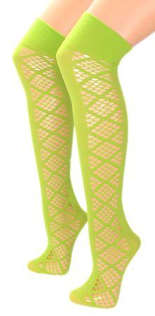 Damen Netz Overknee Strümpfe  – Bild 18