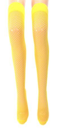Damen Netz Overknee Strümpfe – Bild 1