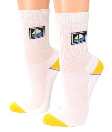 Baby Kinder Socken mit Motiv Segelschiff 3er Pack – Bild 3