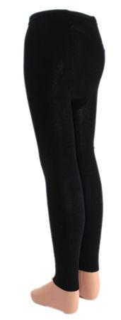 Kinder Legging Leggings schwarz – Bild 3