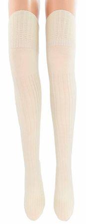 Damen Overknee Strümpfe lang Angora – Bild 6