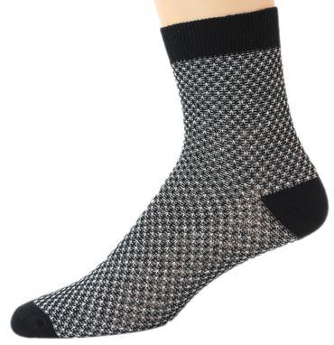 Damen Socken Söckchen Metallfaden Doppelpack – Bild 1
