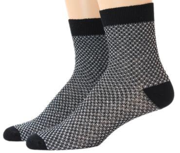 Damen Socken Söckchen Metallfaden Doppelpack – Bild 2