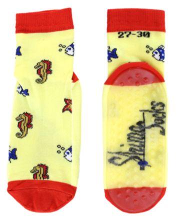 Kinder Wattwander Strand Socken Fische – Bild 3