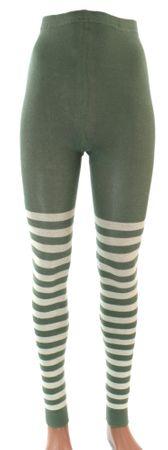 Damen Leggings Ringel Bio Baumwolle – Bild 2