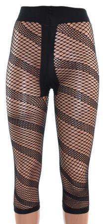 Damen Leggings Netz mit T-Band 7/8 Länge uni – Bild 4