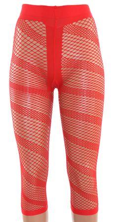 Damen Leggings Netz mit T-Band 7/8 Länge uni – Bild 6