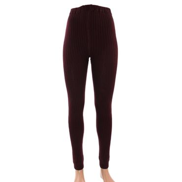 Damen Leggings Legging mit Wolle – Bild 5