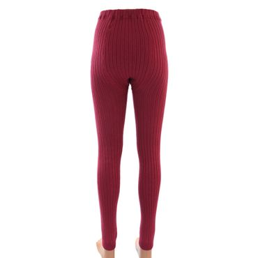 Damen Leggings Legging mit Wolle – Bild 3