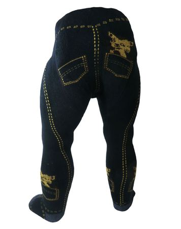 Baby Strumpfhose -die Jeans- – Bild 1