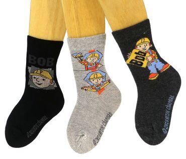 Kinder Socken Bob der Baumeister 3er Pack – Bild 4