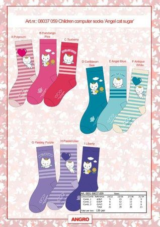 Kinder Socken Angel Cat Sugar 3er Pack – Bild 3