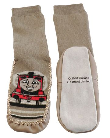 Kinder Sockenschuhe Homesocks -Thomas and friends- – Bild 2