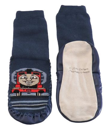 Kinder Sockenschuhe Homesocks -Thomas and friends- – Bild 3