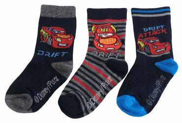 Cars Kinder Socken Dreierpack – Bild 3