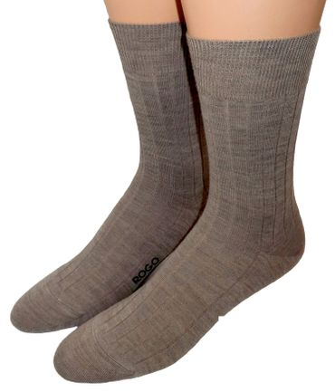 Herren Business Socken Schurwolle