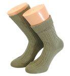 Kinder Langschaft Socken Zopfmuster 001