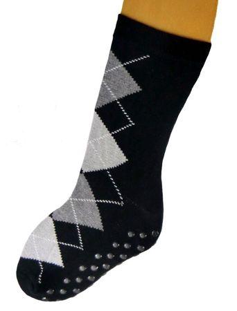 ABS Socken Stoppersocken Kinder karo und uni – Bild 4