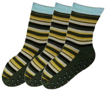 ABS Socken geringelt Kinder 3er Pack – Bild 5