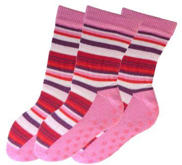 ABS Socken geringelt Kinder 3er Pack – Bild 6