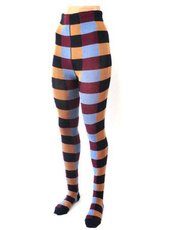 Damen  Strumpfhose Karo – Bild 1