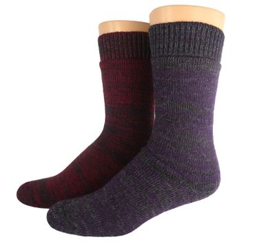 Outdoor Thermo Woll Socken Doppelpack – Bild 4