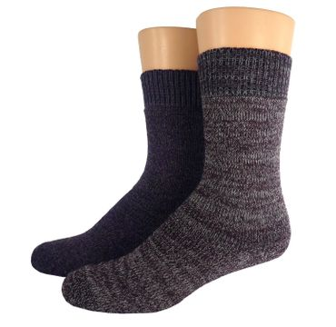Outdoor Thermo Woll Socken Doppelpack – Bild 2