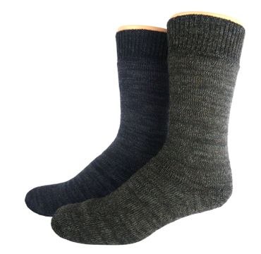 Outdoor Thermo Woll Socken Doppelpack – Bild 8