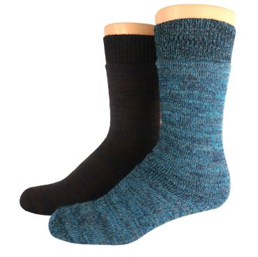 Outdoor Thermo Woll Socken Doppelpack – Bild 7