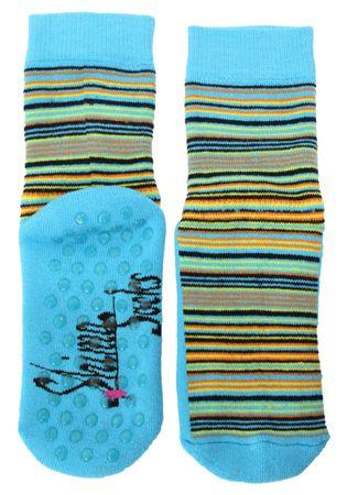 ABS Socken Ringel Vollplüsch Kinder – Bild 4