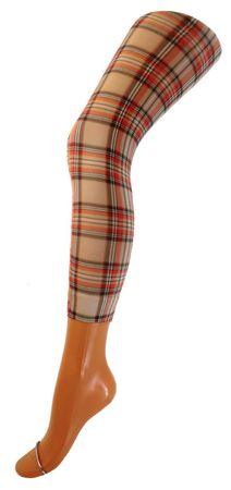 Damen Capri Legging bedruckt Microfaser 70 DEN – Bild 8