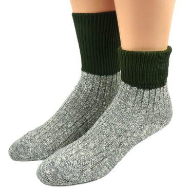 Damen Outdoor Socken 100%  Baumwolle – Bild 1