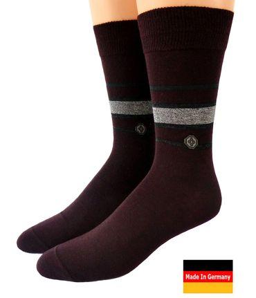 Herren Socken Wolle Übergröße – Bild 1