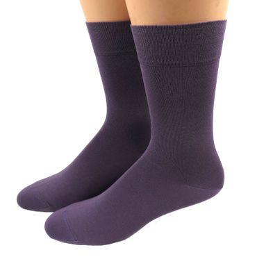 Herren Business Socken gasiert- mercerisiert viele Farben – Bild 15
