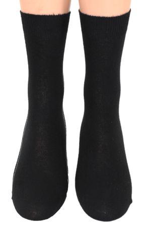 Damen Herren Socken rechts/ links glatt Fünferpack – Bild 7