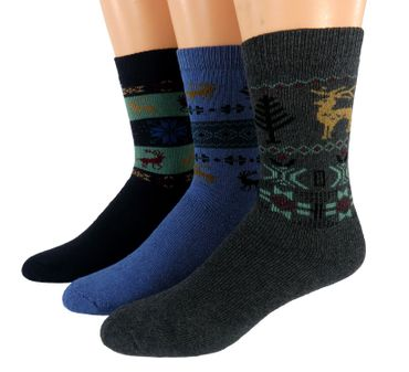 Herren Thermosocken 3er Pack – Bild 3