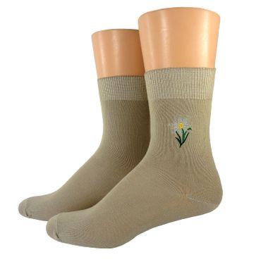 Damen/ Herren Socken bestickt – Bild 2